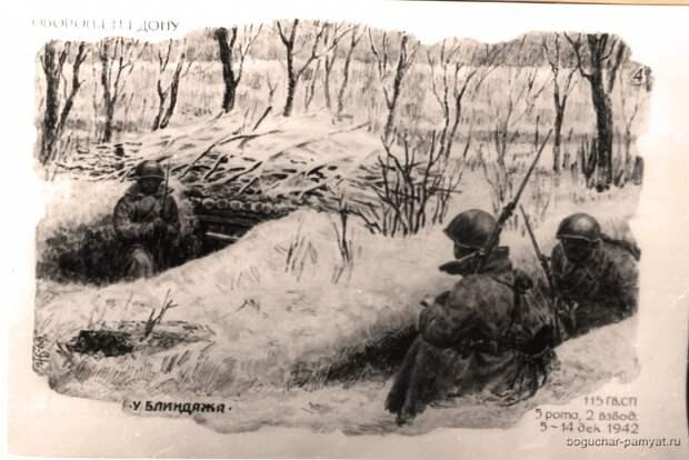 Война в зарисовках фронтовика.