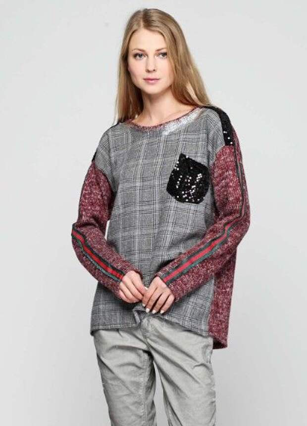 Свитер & рубашка - идеи