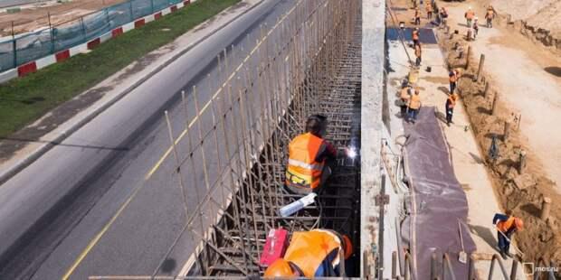 На участке Шереметьевского шоссе начался ремонт