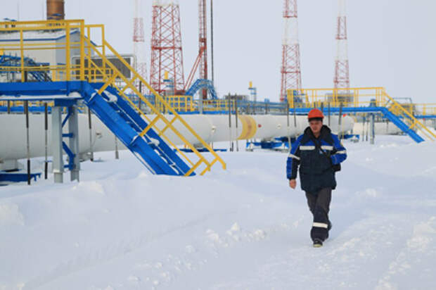 """""""Газпром"""" с начала года увеличил добычу газа на 12%"""