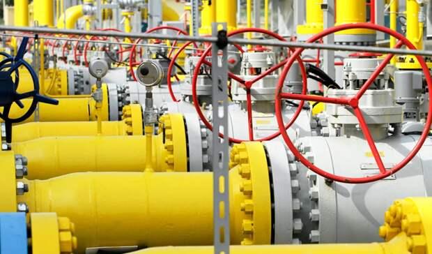 В1,7 раза сократился транзит российского газа через Украину за 8 месяцев 2020