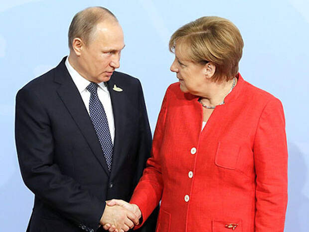 В чем разница между Меркель и Путиным