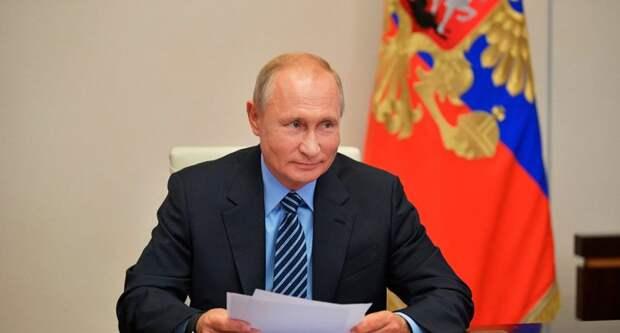 Путин наградил 17 американских граждан флотской военной медалью
