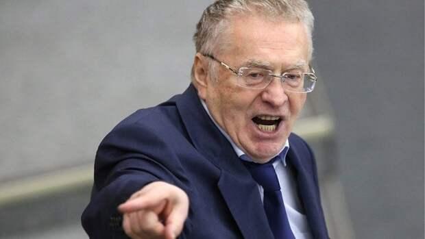 Жириновский открестился от дружбы с Зеленским