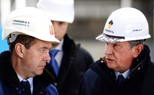 Медведев: Нужен баланс интересов нефтяников ибюджета вналогообложении