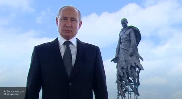 Владимир Путин выступил с обращением перед решающим днем голосования