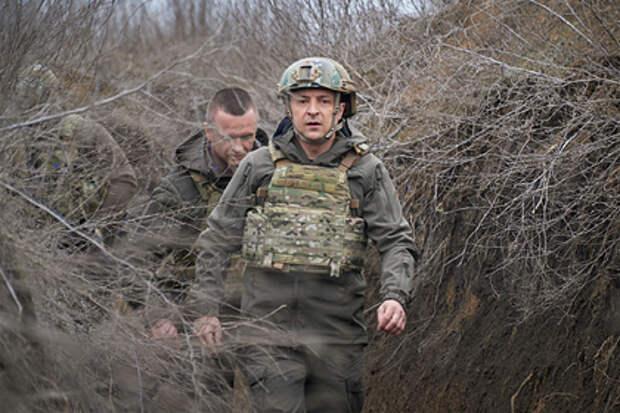 Зеленский заявил о готовности Украины к «российскому вторжению»