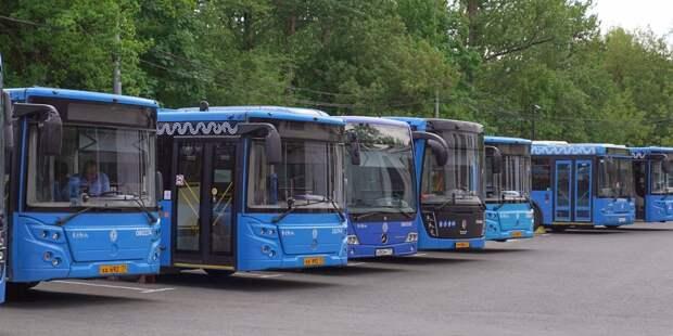 Несколько автобусных маршрутов в Марьине изменятся с 26 июня