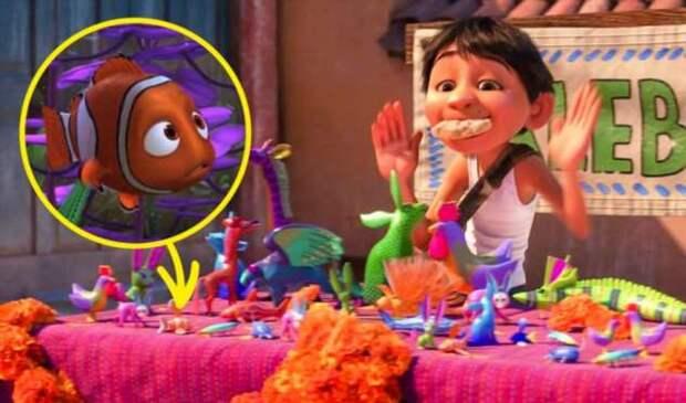 20 скрытых деталей в мультфильмах Pixar, которые почти никто не заметил