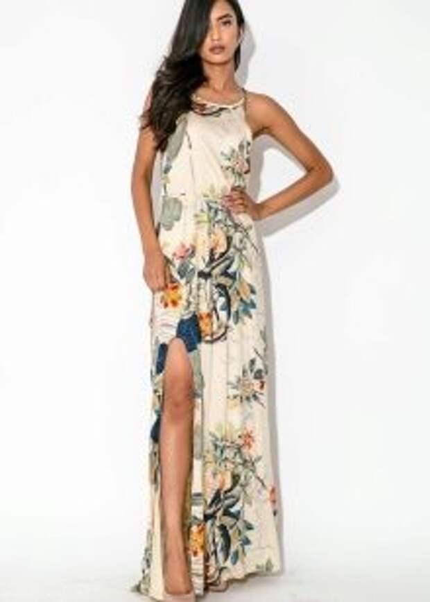 Фасоны летних платьев и сарафанов .
