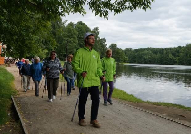 Жители Выхина-Жулебина посоревнуются в турнире по скандинавской ходьбе