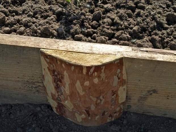 Подпорка для деревянного ограждения