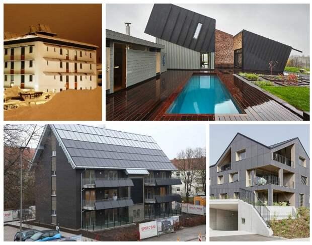 В последнее время все больше появляется проектов создания энергоэффективных домов.