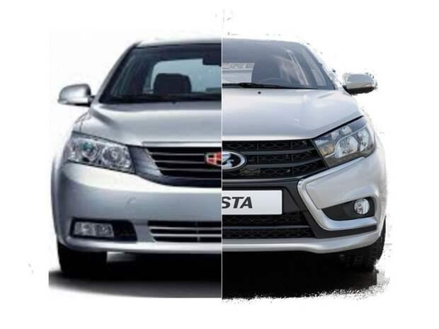 Китайские конкуренты российского автомобиля Lada Vesta