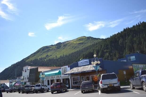 Приезжайте на Аляску за впечатлениями! автомобили, аляска, анкоридж, горы, дороги, сша, сюард