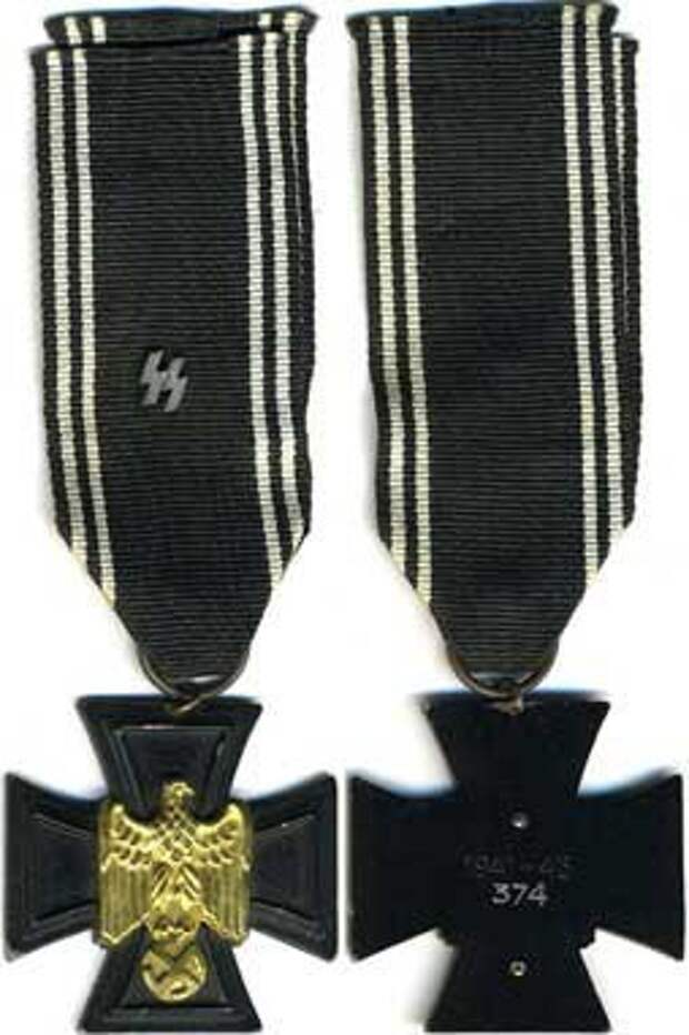 Памятный крест финских добровольцев СС