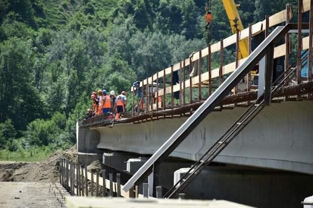 В Апшеронском районе откроют новый мост через реку Пшиш