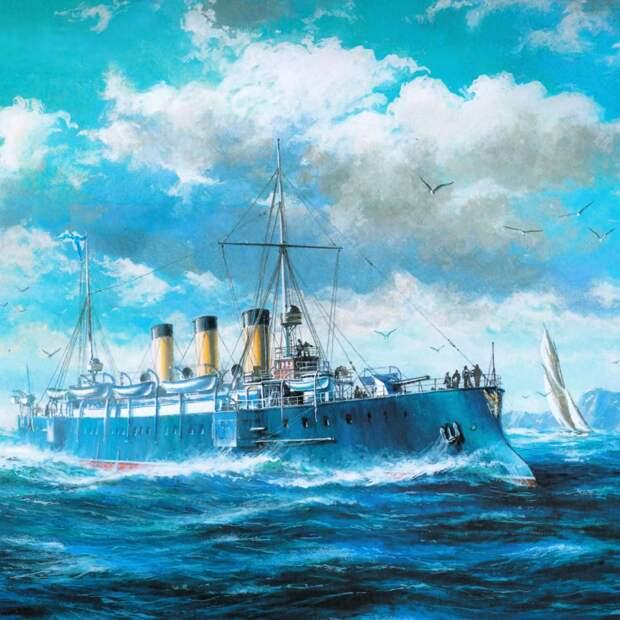 Крейсер 1-го ранга «Светлана».