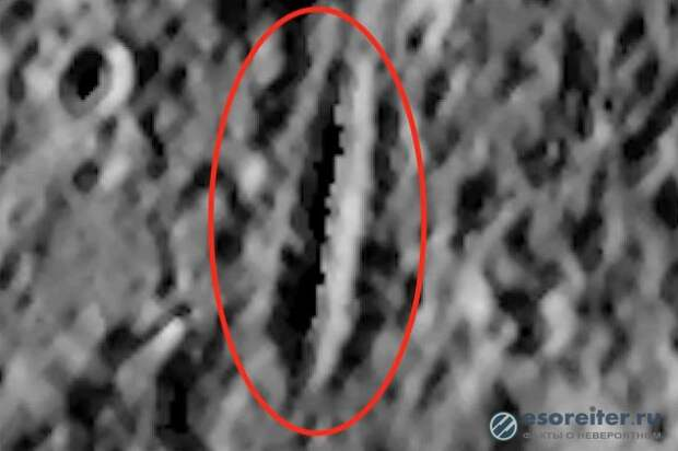 На Меркурии обнаружена искусственная гора