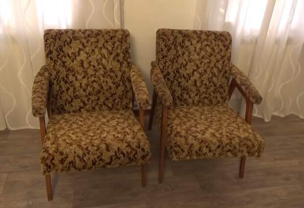 Крутая переделка за копейки: простая переделка советского кресла