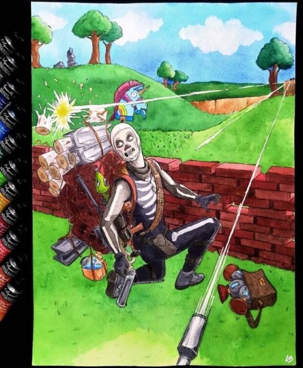 9 игровых персонажей, которые тащат насебе весь инвентарь