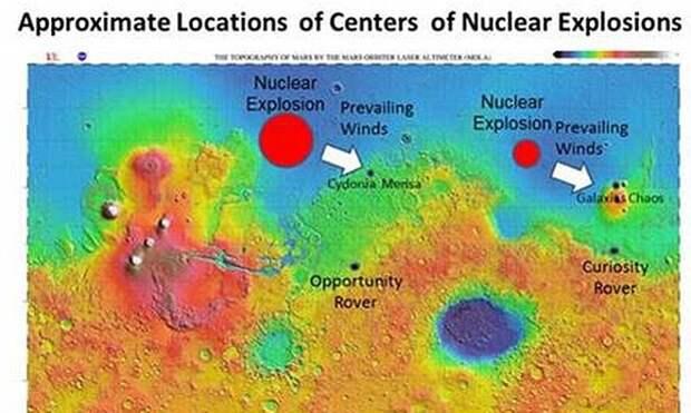 "Американский физик: ""Марсиан уничтожили водородными бомбами"""