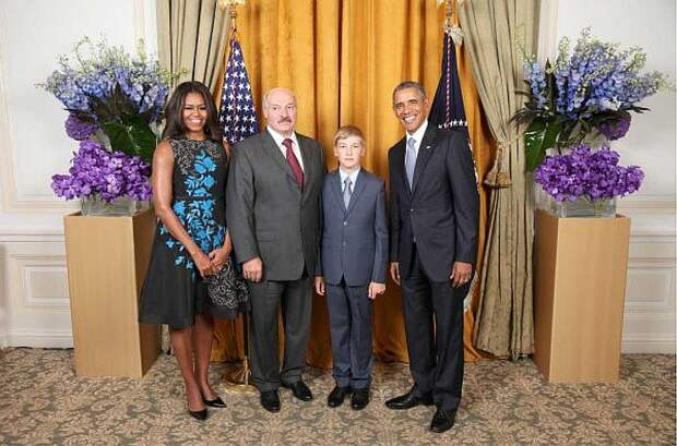 Отец возил его на встречи с сильными мира сего. Фото: The White House