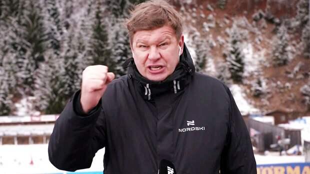 Губерниев: «Страшный ветер в Эстерсунде. Масс-старты могут быть отменены»
