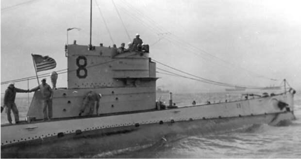Американская подводная лодка «O-8» (SS-69)