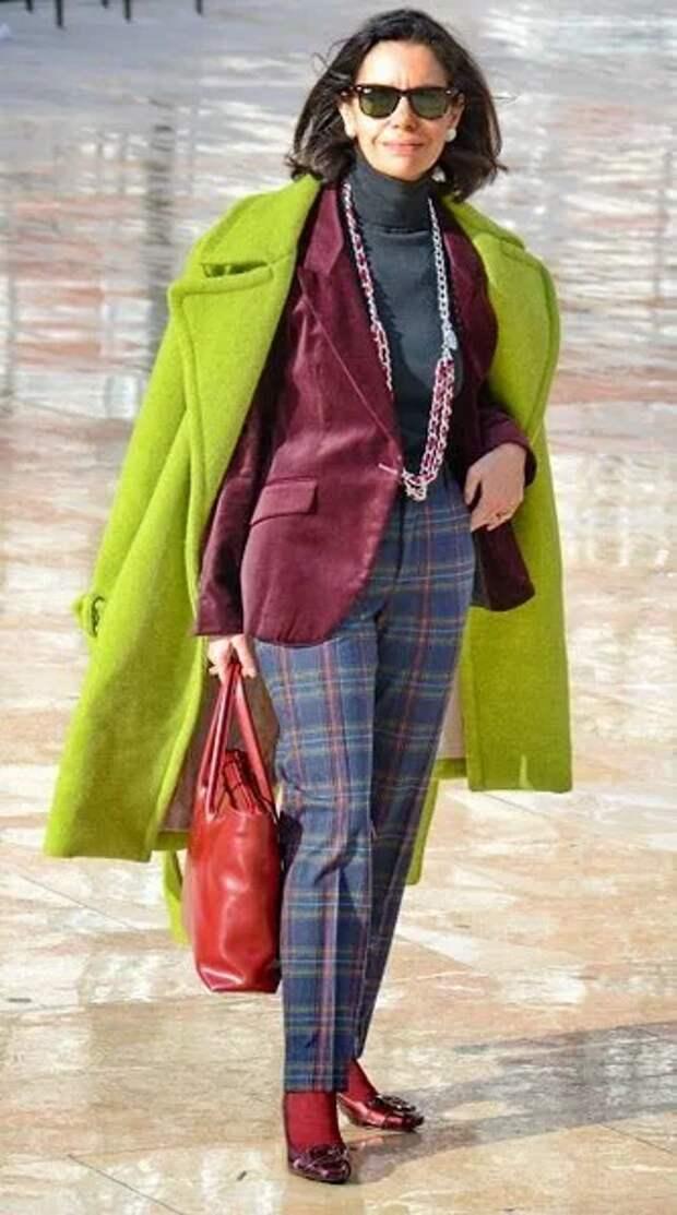 Зимние многослойные образы для женщин 40-50 лет. Правильно составляем и носим