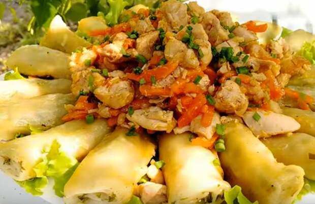 Потрясающее блюдо к обеду из простых продуктов