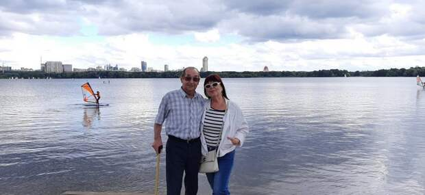 Ирина Сергеевна и Юрий Александрович/ из личного архива