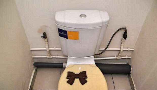 Как при скромном бюджете отремонтировать старый туалет: мастер-класс