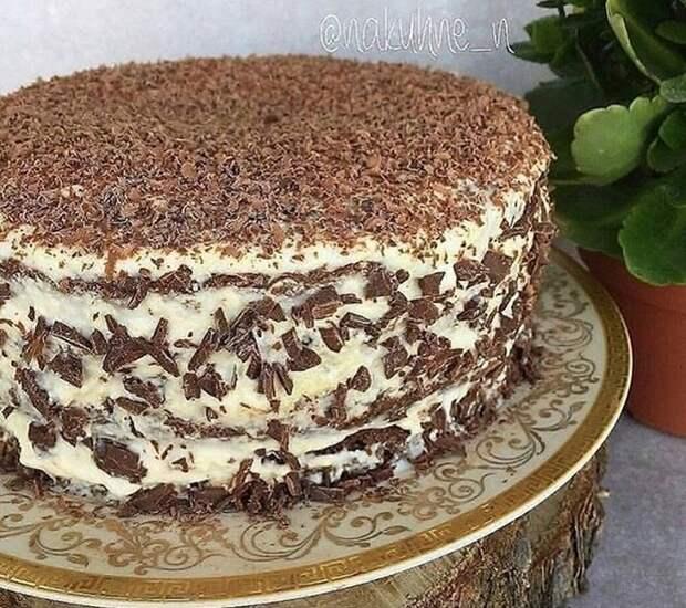 Простой рецепт очень вкусного торта «Черный принц»
