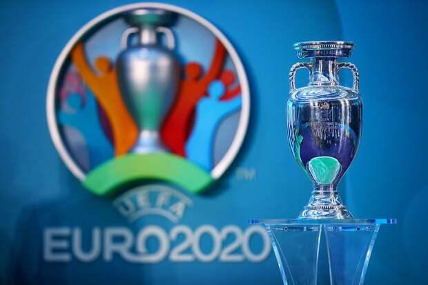 Трофей чемпионата Европы привезли в Санкт-Петербург
