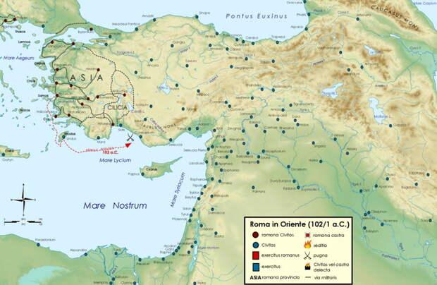 Экспедиция Марка Антония против киликийских пиратов в 102–101 годах до н.э. - Рим и киликийские пираты | Warspot.ru