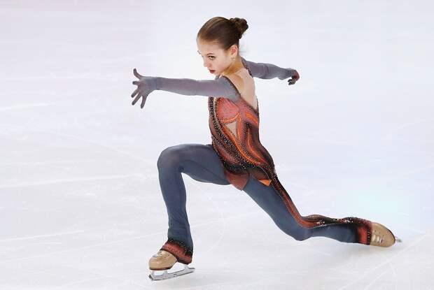 Россиянка Трусова заявила 4 четверных прыжка впроизвольной программе наэтапе Гран-при вКанаде