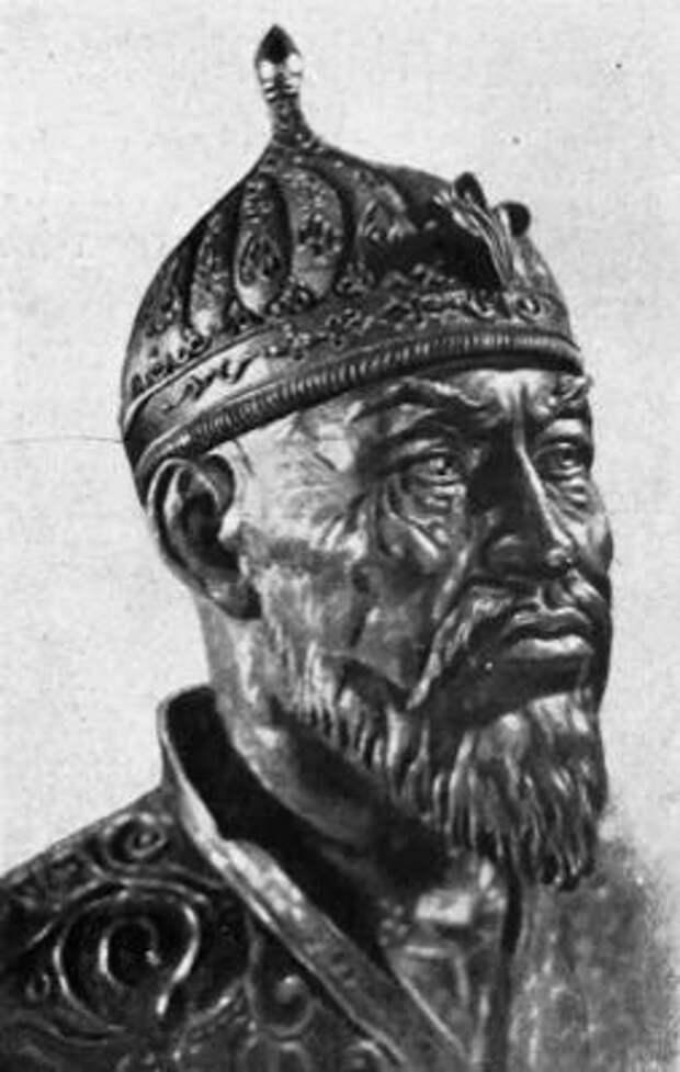 Рис. 9. Восстановленная голова Тимура