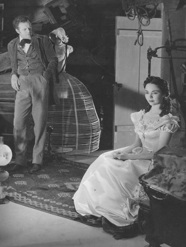 Дженнифер Джонс в фильме «Мадам Бовари» 1949 года
