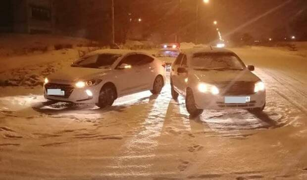 НаКомсомольском проспекте Новотроицка столкнулись две автоледи