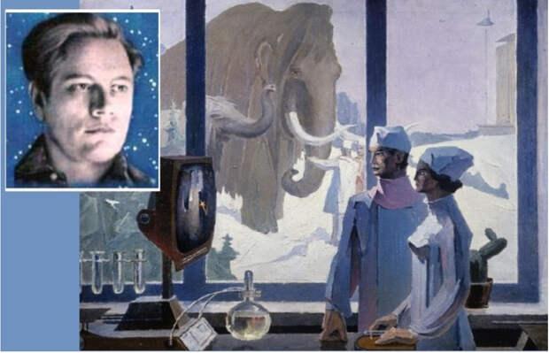 Как парализованный юноша написал 200 научно-фантастических картин
