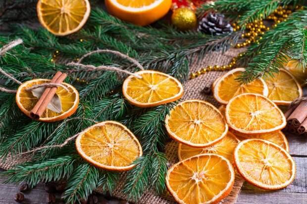 Сушеные апельсины: вкусное угощение и красивая идея для декора