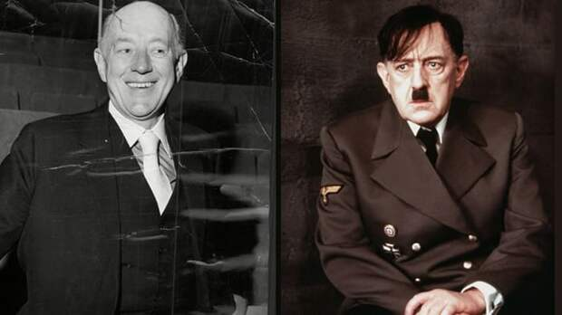 Алек Гиннес сыграл Гитлера в 1973 г.   Фото: kino.mail.ru