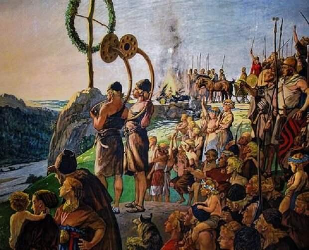 Средиземноморское племя бронзового века / Фото: humanjourney.us