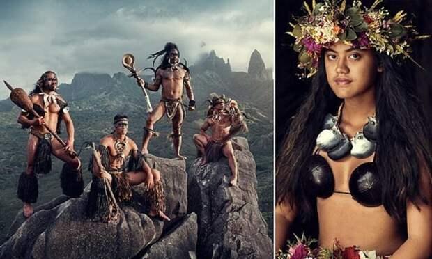 Уединенное племя с невероятно красивыми людьми в объективе Джимми Нельсона