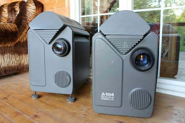 Первый отечественный компьютерный видеопроектор - Rosich & Co A-104.