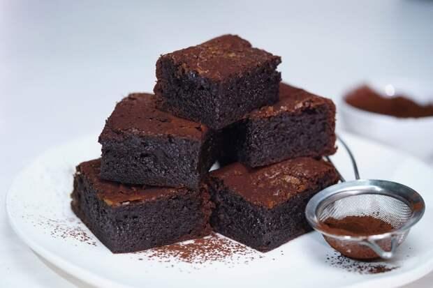 Американский Брауни - самый шоколадный торт