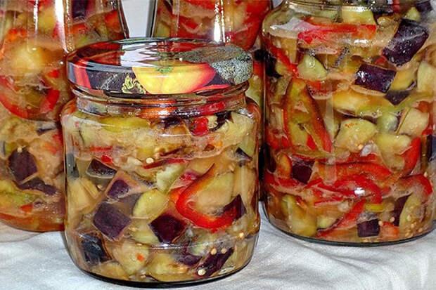 Острые баклажаны на зиму: 7 рецептов заготовок