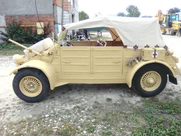 Реинкарнация старого Москвича в самопал Кюбельваген, авто, своими руками