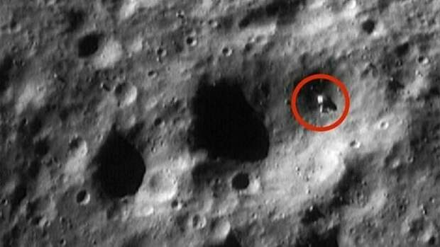 На Луне нашли корабль инопланетян, криокамеры, а также развалины древних построек